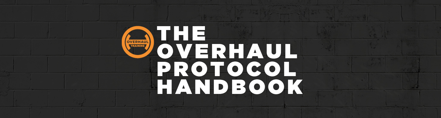OverhaulTrainingSummer2016ProtocolHandbook