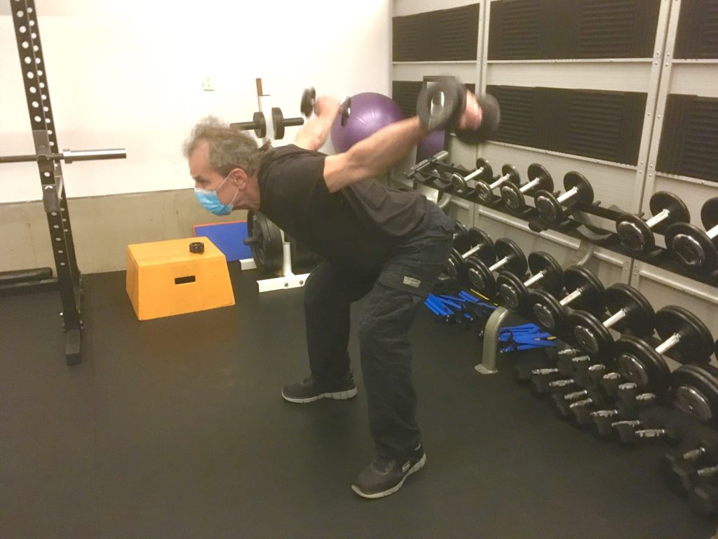 male personal trainer
